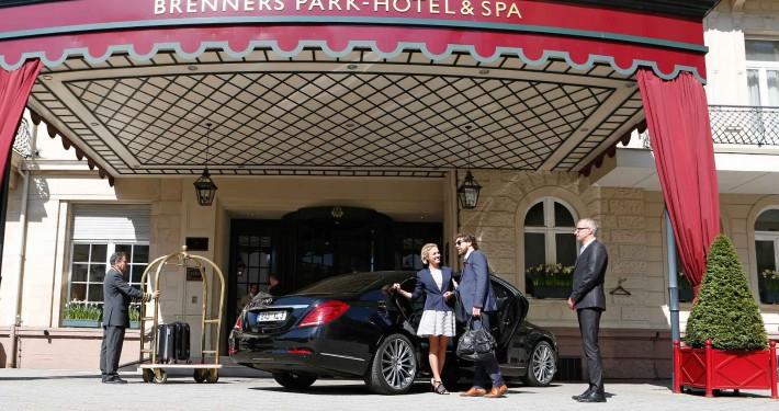 Limousinenservice zum Brenners Park - Hotel & Spa